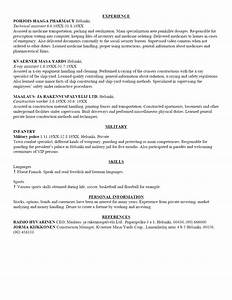 Free Sample Resume Template Cover Letter and Resume