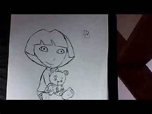 Dessin Fait Main : dessin fait main petite fille et sa peluche youtube ~ Dallasstarsshop.com Idées de Décoration