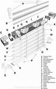Mini Blind Diagram  1 U0026quot  Aluminum Slat  When Fixing Your