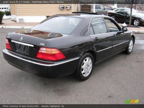1999 acura rl 3 5 sedan in nighthawk black pearl photo no