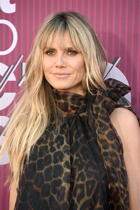 Heidi Klum Layered Cut Looks Stylebistro