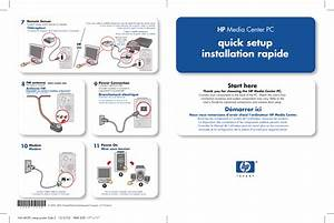 Hp Media Center M470n Desktop Pc Quick Setup Guide Sa411037 1