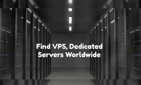 ✅ order now and get discount with promo code. Find VPS, Dedicated Servers Worldwide based on Price ...