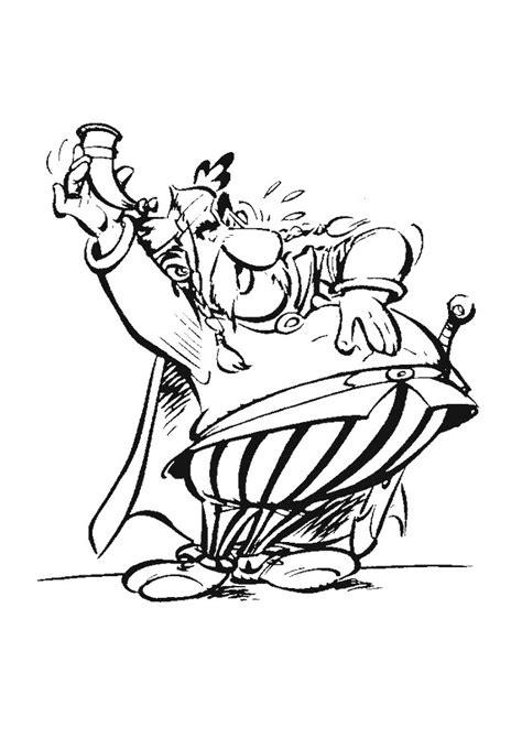 Kleurplaat Proost by Asterix En Obelix Proost Asterix En Obelix Kleurplaten