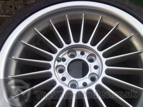 "Bmw Alpina 20"" Alloy Wheel Repairs And Refurbishment"