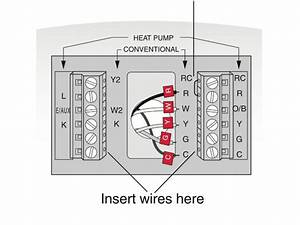Lennox Heat Pump Thermostat Wiring Diagram