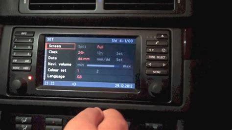 bmw navi update bmw 5 series e39 16 9 screen mk4 software update