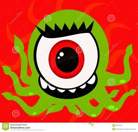 eye monster royalty  stock photography image