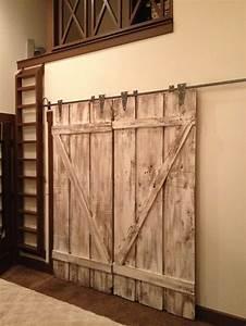 barn style interior doors love it interior design With barn type doors interior