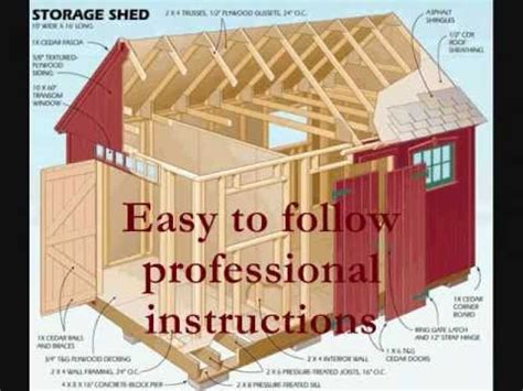 blueprints to build a shed how to build a storage shed wooden shed blueprints and