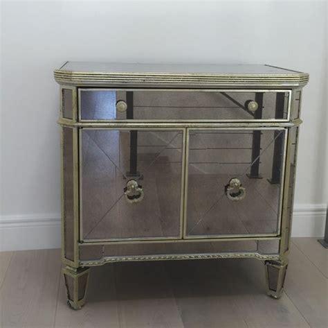 z gallerie nightstand z gallerie borghese mirrored nightstand side chest 190