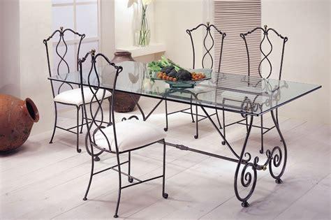 mesa de comedor forja eunice mesas comedor vidrio mesas