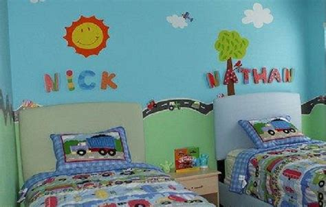 Cheap Twin Bedroom Decorating Ideas For Kids Rooms, Kids