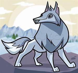 How to Draw an Animal Jam Arctic Wolf, Step by Step, Video ...