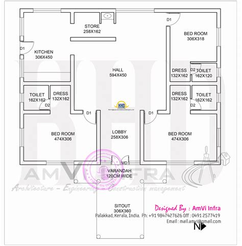 square feet house  floor plan sketch indian