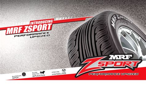 Mrf Zsport. Performance Upsized! Available In