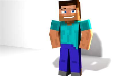 Cinema 4d Minecraft Steve Rig(ptr) Free