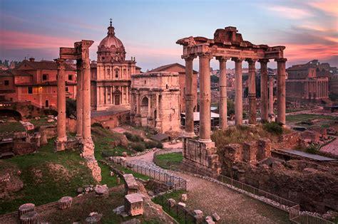 Roman Forum In The Morning, Rome