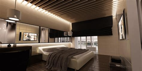 Modern House With Touch Of Pop In Alsace by Awesome Modern Bedroom With Ceiling Bedroom Aprar