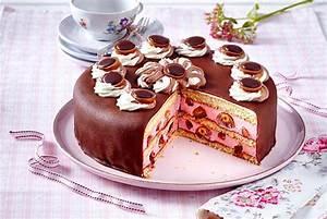 Leckere Einfache Torten : toffifee torte mit himbeercreme rezept lecker ~ Orissabook.com Haus und Dekorationen