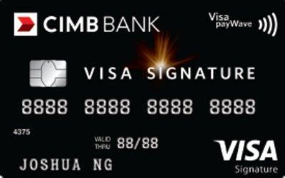 Customers may pay bills, enquire balance and conduct a host of remit overseas up to rm50,000* & get live rates all in a single page view via cimb clicks. CIMB Visa Signature - VIP Travel Benefits