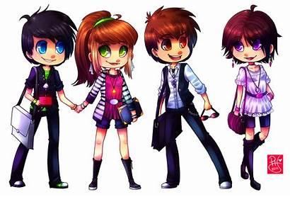 Chibi Cl Deviantart Anime Groups Drawings