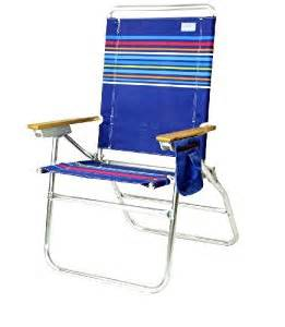 amazon com high boy 7 position beach chair solid color