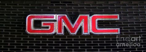 Standard Gmc Emblem And Grille Photograph By Mary Deal