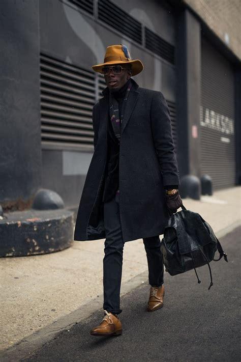 New York Men Fashion Week Fall Street Style