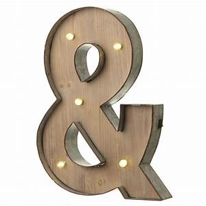 alphabet metal and wooden light up letter With light up decorative letters