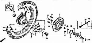 Bycke Diagram Honda : honda motorcycle 1980 oem parts diagram for rear wheel ~ A.2002-acura-tl-radio.info Haus und Dekorationen