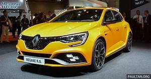 Renault Mégane 4 Rs : tokyo 2017 renault megane rs 280 hp hot hatch ~ Medecine-chirurgie-esthetiques.com Avis de Voitures