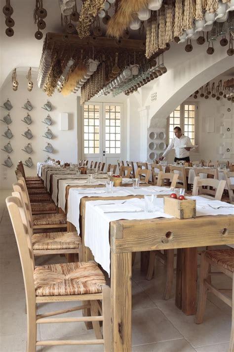borgo egnazia rustic restaurant restaurant design