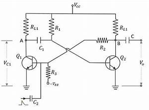 Pulse Circuits - Monostable Multivibrator