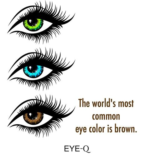 what is the most common eye color the world s most common eye color is brown eyefacts