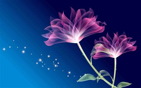 hq wallpapers fantasy flower wallpapers