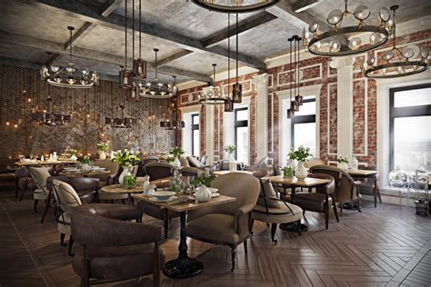 Stunning Restaurant Interior Design The Chic Of Original