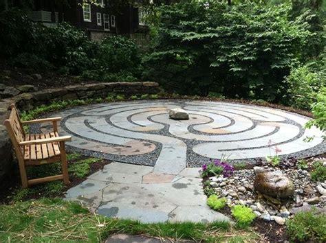 Backyard Labyrinth by Healing Labyrinth Garden Garden Design