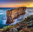 Sunset at The Razorback (Great Ocean Road, Victoria ...