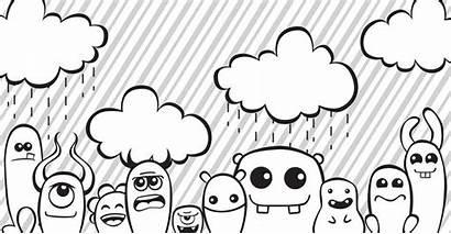 Doodle Monsters Doodles Monster Drawings Kawaii Drawing