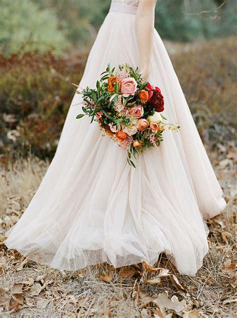 Soft Pink Fall Wedding Inspiration Blush Wedding 100