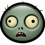 Zombie Emoji Pvz Icon Avatar Transparent Halloween