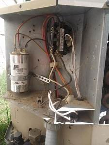 Thermostat Wire To Condenser Unit  Where  - Hvac