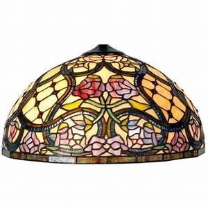 Lampenschirm 40 Cm : tiffany lampe lampenschirm glasschirm ca 40 cm clayre ~ Pilothousefishingboats.com Haus und Dekorationen