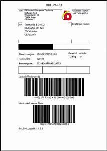Lieferschein Dhl : news zu unserem warenwirtschaftssystem baumann software ~ Themetempest.com Abrechnung