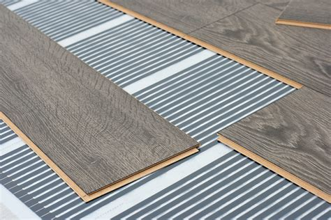 heated laminate floor what is radiant heating