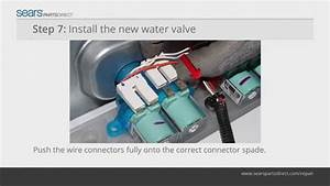 How to Install a Water Inlet Valve on a Top-Load Washer ...