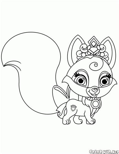 Kolorowanka Fox Nuzzles