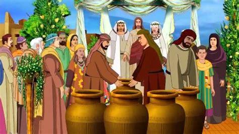 jesus turns water  wine   wedding  cana bible