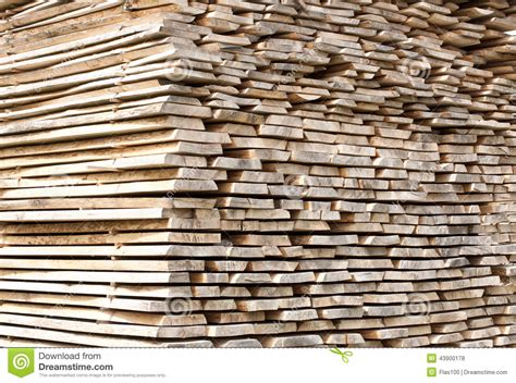 stack  wood planks  construction buildings stock photo image